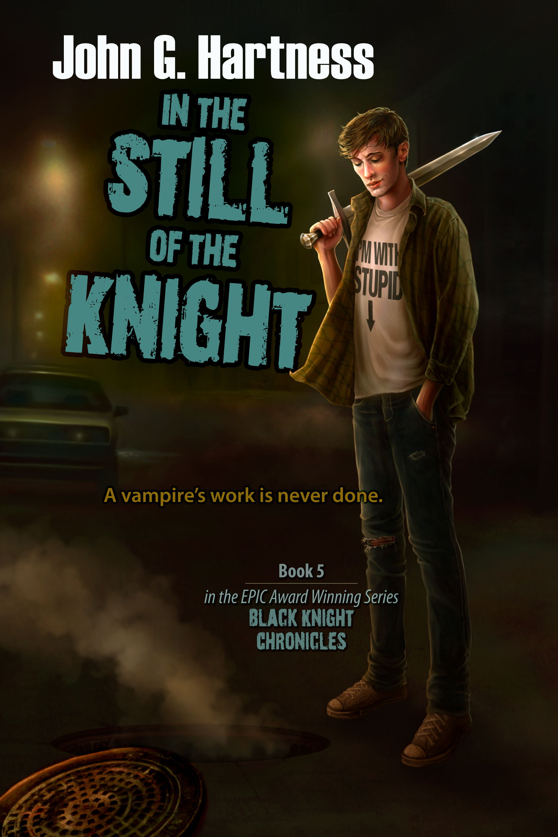 John G. Hartness: Five Things I Learned Writing In The Still Of The Knight